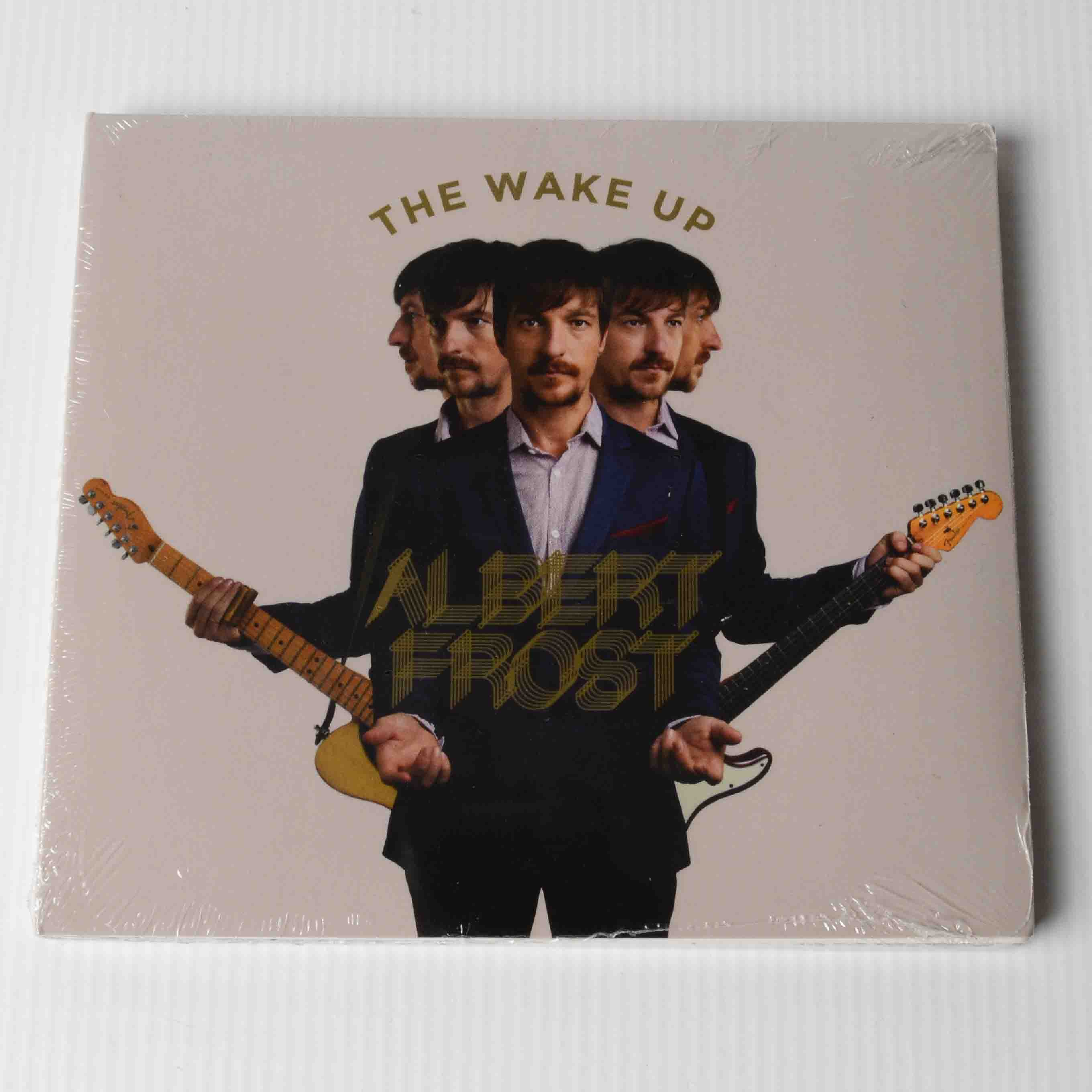 AlbertFrost_TheMerchChurch_CD_Album_TheWakeUp_Front